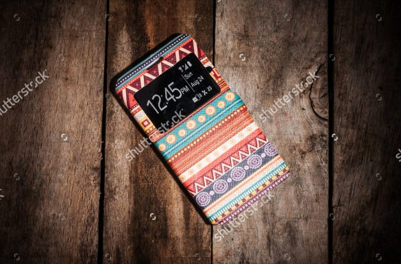 sample of mobile phone case template