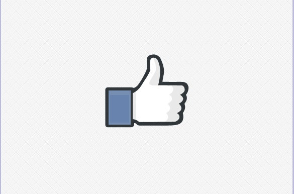 25 facebook icons free psd ai vector eps format for Like us on facebook sticker template
