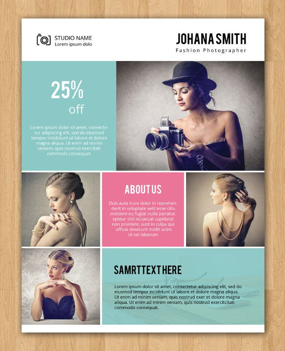 Photography Flyer Template - 41+ Free PSD Format Download! | Free ...