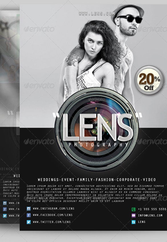 Photography Flyer Template Zesloka