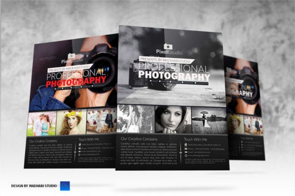 Fantastic Photography Brochure Template Collection Example Resume - Photography ad template