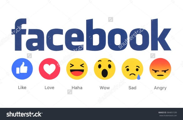 emoticons with facebook icon template download