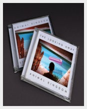 Animal Kingdom Jewel Case Sample Template