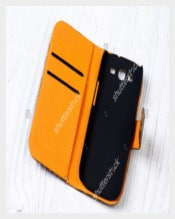 Yellow and Black Colour Sample Phone