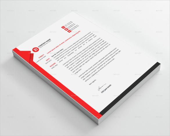 corporate custom letterhead bundle