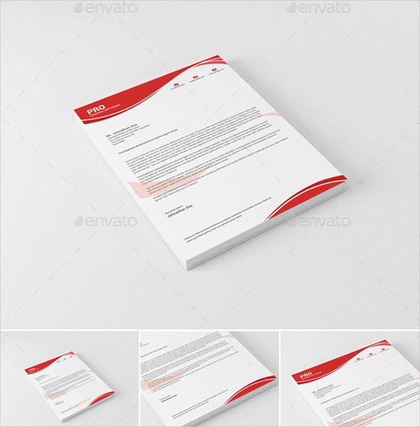 ms word letterhead bundle of custom