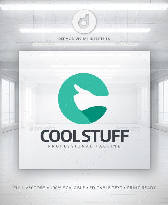 cool stuff logo template