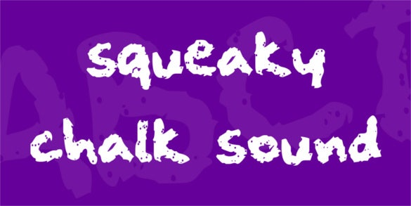 free squeaky chalk sound font