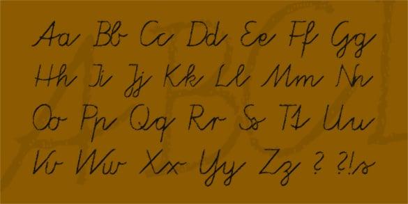 tafelschrift chalkboard font for free