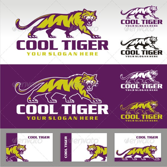 tiger logo template download