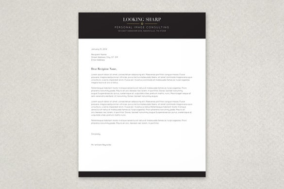 free letterhead template 14 free word pdf format download free