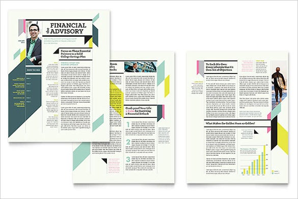 personal finance newsletter template in microsoft format download