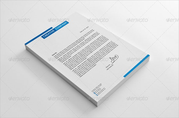 company corporate letterheads vector eps ai illustrator download0a