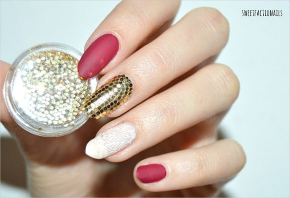 3d nail art decoration design template