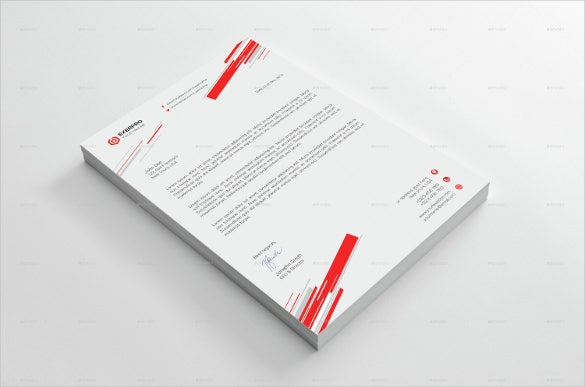 20+ Business Letterhead Templates – Free Sample, Example Format ...
