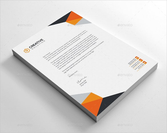 20 business letterhead templates free sample example format business letterhead template spiritdancerdesigns Image collections