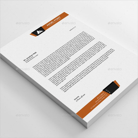 line business letterhead template download