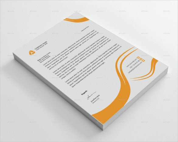 letterhead for business template