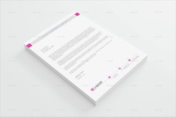 professional letterhead download