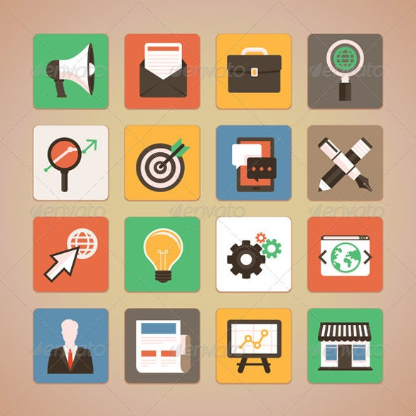 set of internet marketing icons download0a