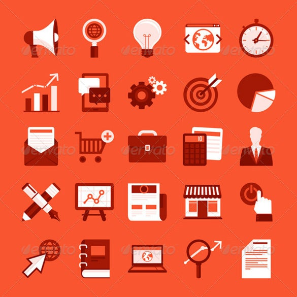 professional marketing icons download