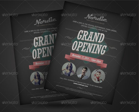 Announcement Flyers   Free Psd Ai Vector Eps Format Download