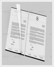 Black & White Corporate Letterheads