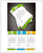 Simple Letterhead for Personal Usage Template