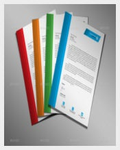 Corporate Letterhead in Four Colours