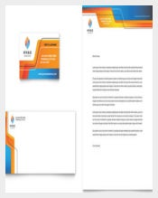 Letterhead for Comapny Construction Template