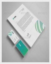 Tello Corporate Identity Custom Letterhead