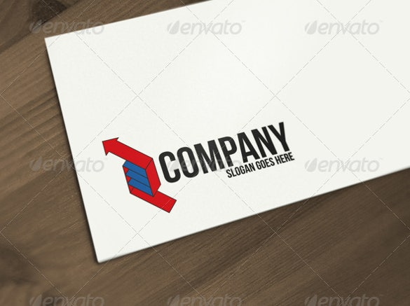 arrow logo company template