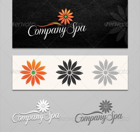 beautiful flowers logo company