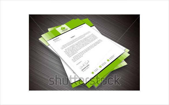 sample example format personal letterhead