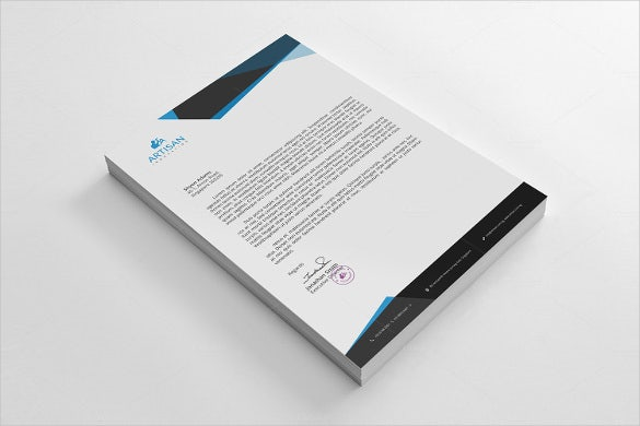 20 personal letterhead templates free sample example format