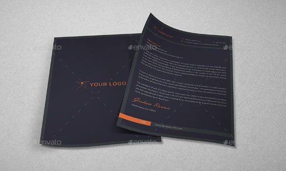 sample example business letterhead bundle for personal