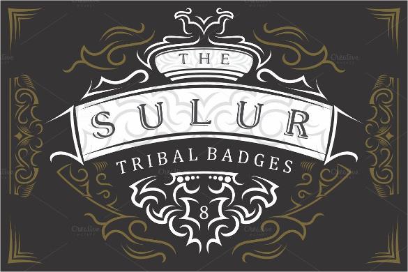 8 tribal badges company logo
