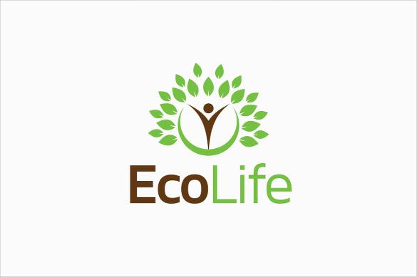 eco life company logo