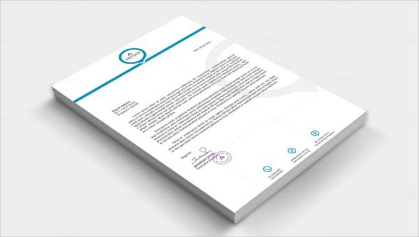 featured image corporate letterhead template