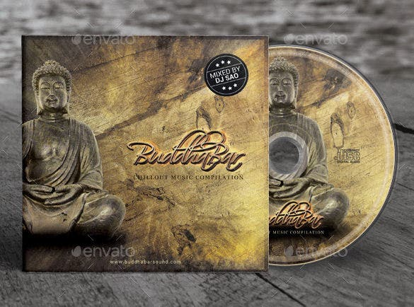 buddha bar chill out cd cover artwork template