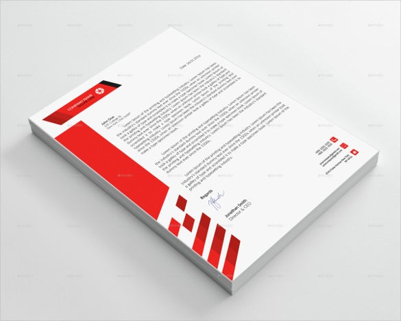 sample corporate letterhead