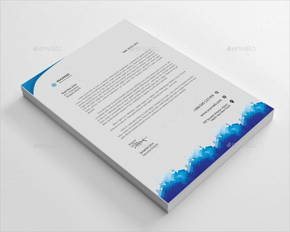 20 Corporate Letterhead Templates Free Sample Example Format – Corporate Letterhead