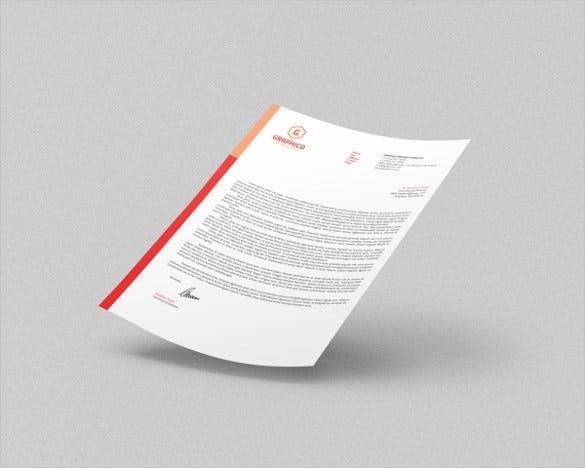 corporate letterhead 6 with ms word example