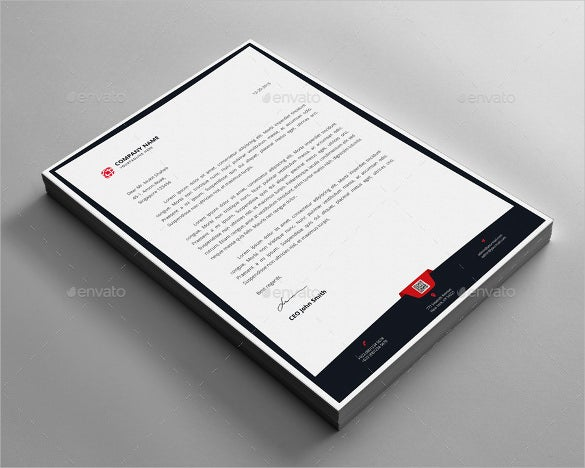 22example letterhead design