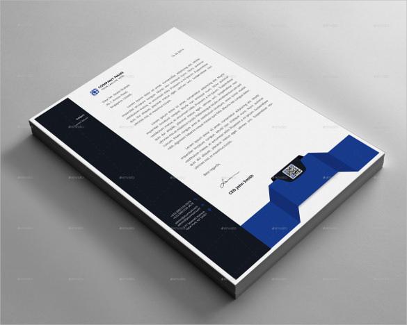 letterhead design sample