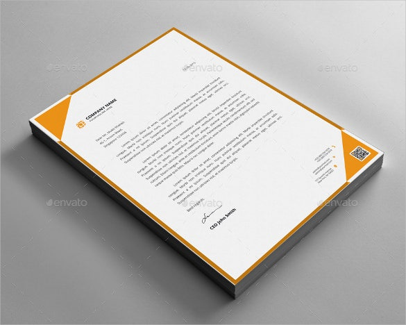 letterhead design sample download