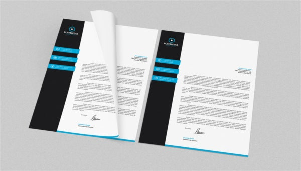 featured image legal letterhead template