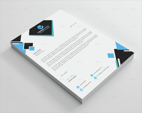 22example format corporate legal letterhead