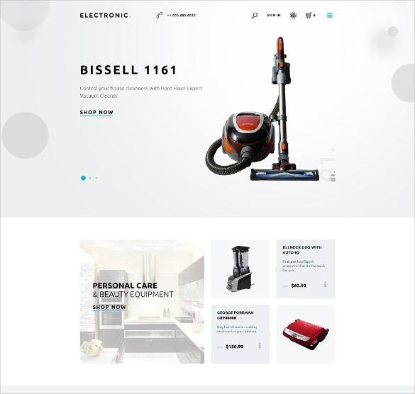 electronics store responsive prestashop ecommerce theme