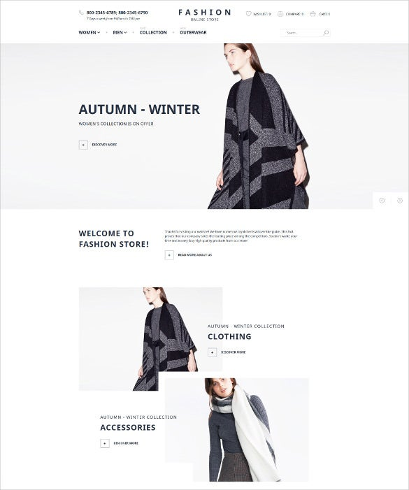 ladies clothing magento ecommerce theme